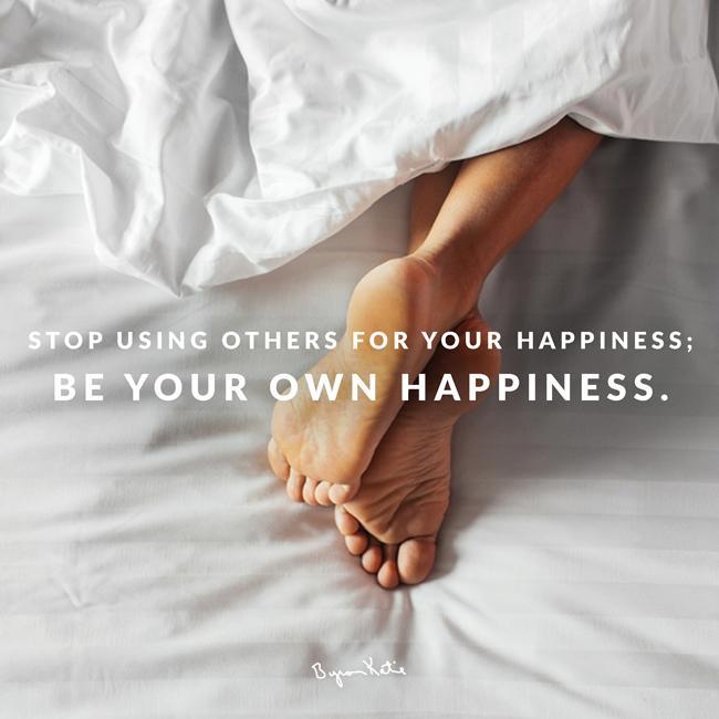 Mit The Work glücklich sein